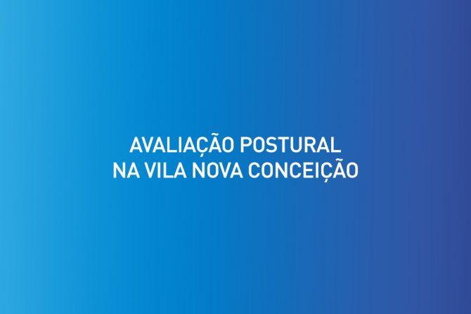 Avaliação postural na Vila Nova Conceição
